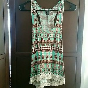 Rue 21 tribal tank top